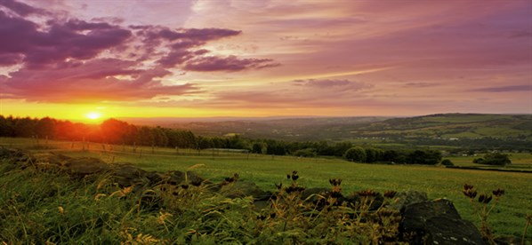 Peak District Sunset
