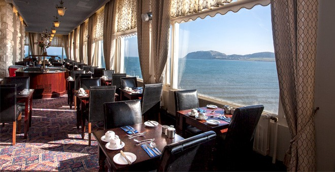 The Grand Hotel Llandudno Sea Front Location