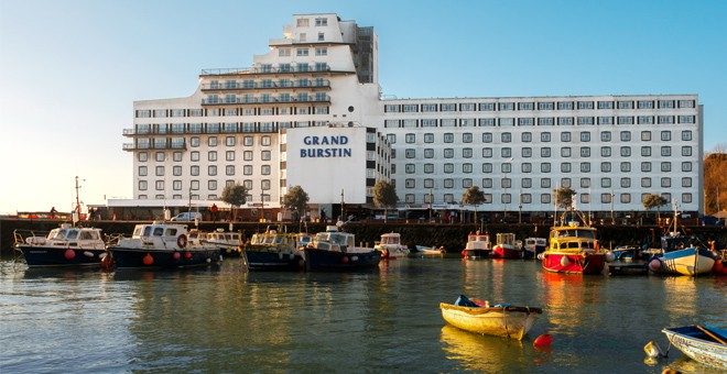 The Grand Burstin Hotel Folkestone